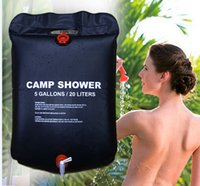 pvc pipe - High quality L Outdoor Camping Hiking Solar Energy Heated Camp Shower Pipe Bag Portable