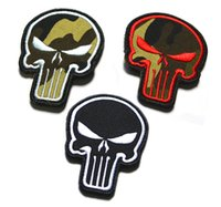 Wholesale We ll Arrange The Meeing Punisher Patch God Will Judge Our Enemies D Tactical Patches Military Embroidered Armband Cloth Badgev