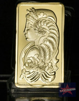 Metal beautiful souvenirs - Suisse beautiful lady craft gold plated bullion bar souvenir coin Gold Clad Coin Commemorative coin