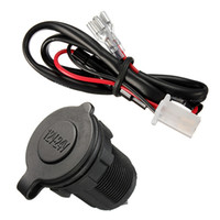 Wholesale Universal Waterproof v V Accessory Power Socket Car Motorcycle Cigarette Lighter Plug