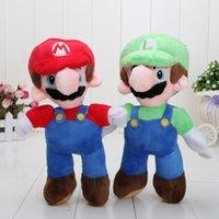 mario bros toy - retail NEW Arrival SUPER MARIO Bros quot PLUSH MARIO LUIGI PLUSH DOLLS Toys