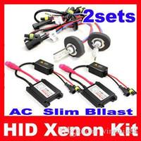 Wholesale set Xenon HID kit H1 H3 H4 H8 H4 H7 Single Beam Auto Car Lamp HID Kit k k k k k k