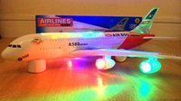 airline models - RETAIL SELLING AIRBUS A380 AIRLINES MODEL AEROPLANE LED TOY WITH LIGHTS SOUNDS BOY GIRL