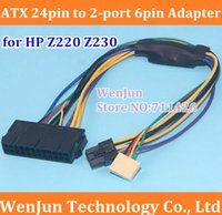 atx power supply adapter - Hot Sale ATX pin to Motherboard port pin adapter Power supply cable for HP Z220 Z230 SFF Mainboard server Workstation order lt no track