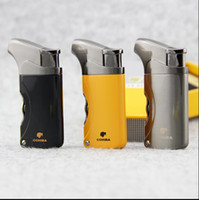beautiful gadgets - COHIBA Gadgets High Quality Beautiful Pocket Size Metal Windproof Torch Jet Flame Gas Cigarette Cigar Lighter with Double Punch