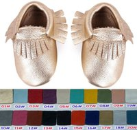 Girl baby sample - 1Pair Retail Sample Baby fringe moccs baby moccasins Top Layer Cow Leather girls boys soft leather moccs baby booties toddler cow shoes
