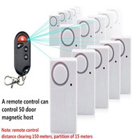 apartment rentals - High quality Wireless Remote Control Magnetic Sensor Burglar Alarm Home Rental Apartment Security Warning Alarms System order lt no track