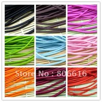 bungee cord - 3 MM W M Mixed Colors Round Elastic Band Stretch Rope Bungee Cord Strings DIY Hair Accessories