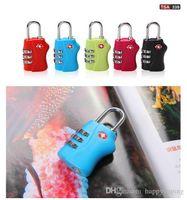 Wholesale sale hot Digit Combination Padlock Suitcase Travel Lock TSA locks Luggage Padlock