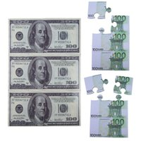 Wholesale High Quality Creative U S Eur Dollar Puzzle Coasters EVA Insulation Cup Mat Pack OCEA