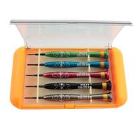 Wholesale 5 in Precision Screwdriver Disassemble Repair Tools Kit for iPhone Mobile Phone Laptop BEST S