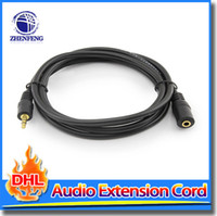 Wholesale 3 mm Aux Cable Audio Extension Cable Male To Female For Extend all Headset Audio Stereo Cord MP3 Plug Jack