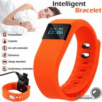 answering systems - TW64 Smart Bracelet Bluetooth Smart Wristbands smart watch Waterproof Passometer Sleep Tracker Function for android ios system OTH048