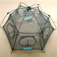 Wholesale New Arrival Hot Sale Small Mesh Fishing Net Size cmX80cm cmX100cm catch Fish Minnow Trap Ruse Cast Net
