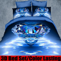Cheap 38 styles tiger apple diamond 3d bedding setsk king size Red Rose luxury duvet cover sets bed sheet marilyn monroe bed linen set