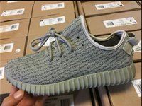 Cheap Wholesale Top Quality West Yeezy Boost Classic Gray Black Men's size us 7-12 Sports Shoes