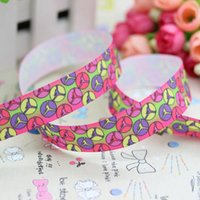 sports ribbon - 7 quot mm Famous Sport Logo Basketball Printed Grosgrain Ribbon for Hair Bow DIY Crafts Party Decos Yards