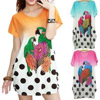 bamboo dress code - ZJ15 factory direct summer dress code Korean large bird loose dress bamboo flower stone