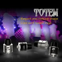 bear totem - 2016 SMY Totem RDA Wide Bore Drip Tip mm Rebuildable Dripping Atomizer Post Atomizer explosion proof Brand New
