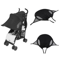 Wholesale Kids Stroller Pushchair Sun Shade Protection Cover Sun Hood Wind Shield Sunshade Cover Brand New Shade Accessories
