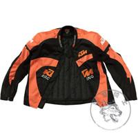 Wholesale 2016 Ktm motorcycle riding suit warm jaceket pants set with cotton liner antifall windproof orange black color size S XXXL fit men women