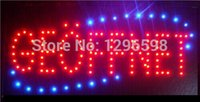 Wholesale 2016 hot sale low power inch led sign semi outdoor Ultra Bright running GEOFFNET led advertising signs