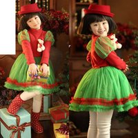 Cheap TuTu christmas dress Best Winter A-Line girl dress