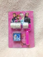 Wholesale Set frozen Elsa Anna DIY Cartoon stamp seal cartoon stationery de festa NEW