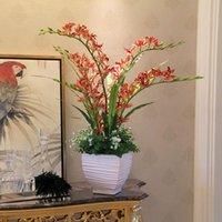 Wholesale Cheap limit high end European style garden floral suit Vanda simulation flowers overall floral large CM