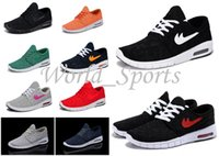 sports shoes skateboard - 2014 New Color Stefan Janoski Max Women and Men Running Shoes Sport Skateboard Shoe Max SZ Drop Ship