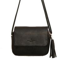 Wholesale Cute Messenger Bags Fringe Bag for Women Black Purse Small Handbags Organizer Cheap Korean Style Crossbody Designer Bag L4
