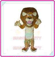Custom Made alex dresses - Madagascar Lion Mascot Costume Adult Size Madagasca Alex Lion Mascotte Mascota Fancy Dress Fit SW1202