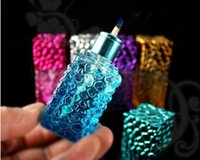 alcohol types - The new personality small water cube glass alcohol lamp wick alcohol lamp to send
