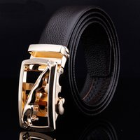 Wholesale Hot Selling Men s Belt Male Strap Buckle Men Male Belt Gold and silver leopard shall leather belt men s business belt factory price who