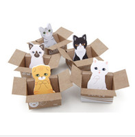 Wholesale Hot Sale Funny Kitty House It Sticker Post It Bookmark Mark Tab Memo Sticky Notes