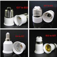base cfl bulb - LED Bulb Base Adapter E27 to E14 E14 to E27 E27 to B22 B22 to E27 Converter for LED Halogen CFL Light Bulb Lamp Holder LED Lamp Bases