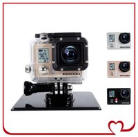 helmet camera - KEECOO K0 Waterproof Sports Camera Inch H LCD CMOS MP WIFI TF P Diving HD Camcorder Helmet Camera for IOS Android Smart Cam