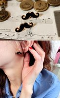 Wholesale Mustache shape earring Fashion Jewelry unisex Anti allergic fasion style no fade Hign quality and