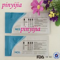 Wholesale DHL Shipped mlu ml HCG Pregnancy Test Strip For Home Use