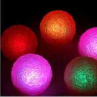 Wholesale LOVE Styles Wedding Centerpieces Gifts Christmas Ornament Colorful Rose Ball LED Night Light For Party Decoration Supplies