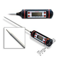 Wholesale Cooking Thermometer Instant Read Digital Thermometer for All Food Grill BBQ Candy Meat Thermometer Kitchen tools white black