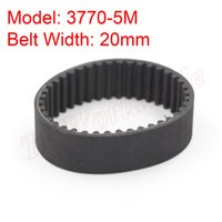Cheap Free Shipping 5M Type 3770-5M Synchronous Belt 20mm Belt Width 5mm Pitch for 5M Timing Pulley