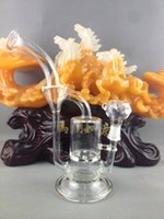 best wholsale - wholsale new design water pipes two functions best price tornado DISK PERC CONCENTRATE glass water pipe glass bong oil rig