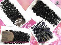 Cheap brazilian hair lace closure Best silk base lace closures