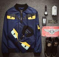 Wholesale Autumn outdoor mens designer jackets long sleeve mens jacket for youth baseball sport jacket men JH
