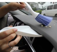 Wholesale Car care beauty products The car outlet cleaning brush Computer brush Instrument to brush Blue angel brush