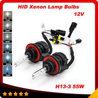 achat en gros de audi cacha kits-HID BIXENON KIT 55W canbus H4-3 H13-3 9004 5202 H16 HID KIT PHARE 4300 ampoules 5000 8000K 10000K 12000K SUPER WHITE xénon