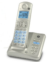 Wholesale 1pc General GE digital wireless hands free screen backlight cordless telephone With record number key