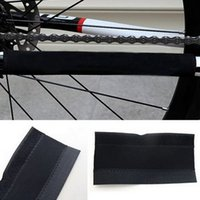 Wholesale B021 Bicycle Chain Bicycle Stickers Protector Cycling Mountain Bike Frame Protection Pad Paste Care cloth Guard Cover