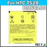 Wholesale High capacity BM60100 battery For HTC One SC One ST One SU PM60120 T528d T528t T528W Battery batteria AKKU